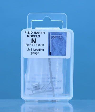 PD Marsh N Gauge LMS Loading Gauge # PDB463