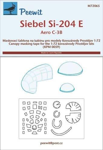 Peewit 1/72 Siebel Si-204E/Aero C-3B # PEE72065