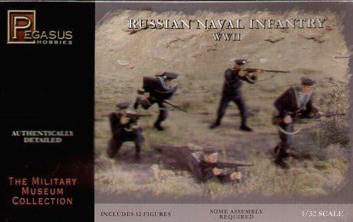 Pegasus Hobbies 1/32 Soviet Naval Infantry (WWII) # 3203