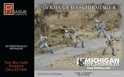 Pegasus Hobbies 1/32 WWII German Fallschirmjäger # 3204