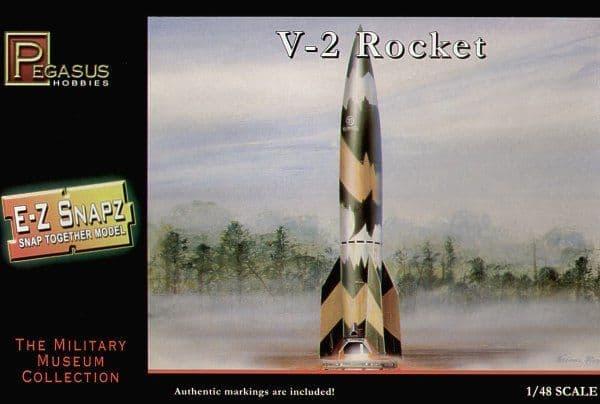 Pegasus Hobbies 1/48 V-2 Rocket # 8416