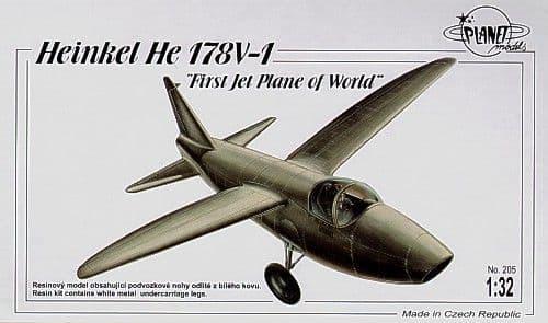 Planet 1/32 Heinkel He 178V-1 first jet aircraft # 205