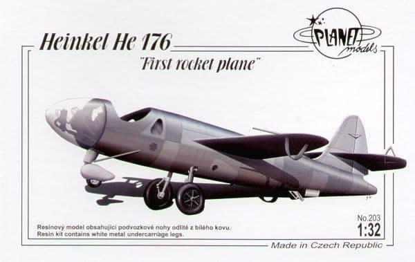 Planet 1/32 Heinkel He176 First Rocket Plane # 203