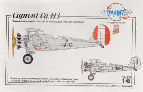 """Planet 1/48 Caproni Ca.114 """"Peruvian Air Force Fighter"""" # 24248"""