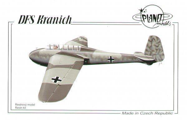 Planet 1/48 DFS Kranich Glider # 182