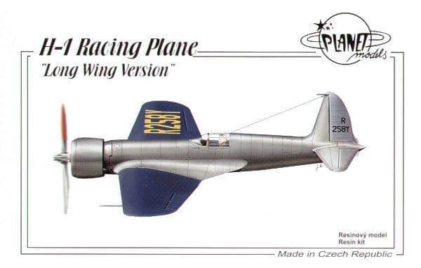 Planet 1/48 H-1 Racing Plane Long Wing Version # 168