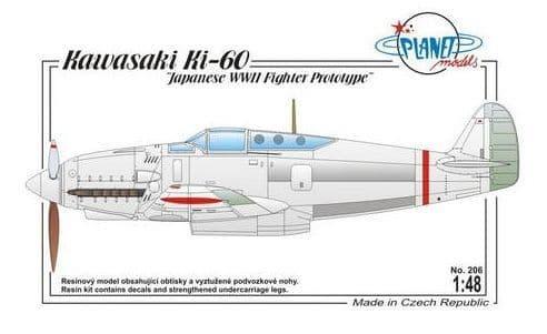 Planet 1/48 Kawasaki Ki-60 # 206