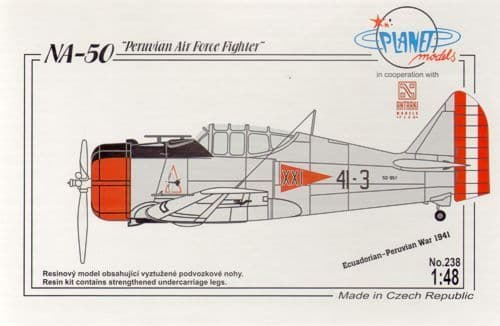 Planet 1/48 NA-50 Peruvian Air Force Fighter # 238