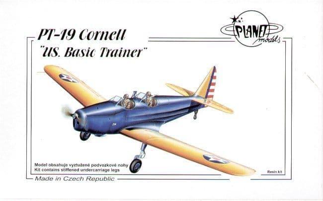 Planet 1/48 PT-19 Cornell US Basic Trainer # 142