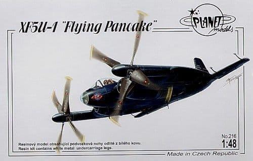 Planet 1/48 Vought XF5U-1 Flying Pancake # 216