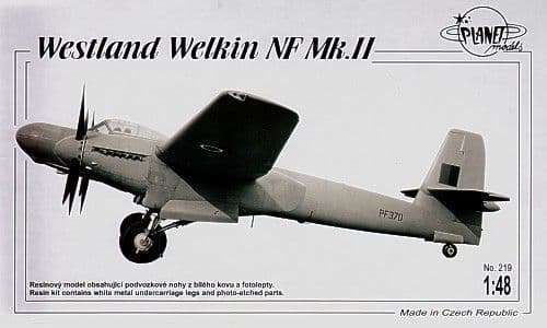 Planet 1/48 Westland Welkin NF Mk. II # 219