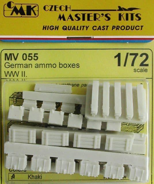 Planet 1/72 German Ammunition Boxes WWII # MV055