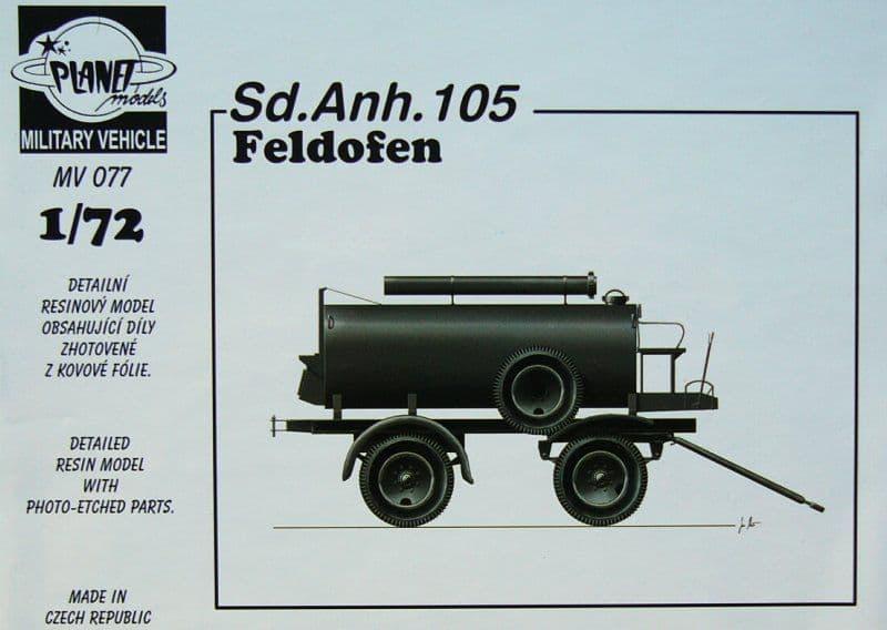 Planet 1/72 Sd.Anh. 105 Feldofen # MV077