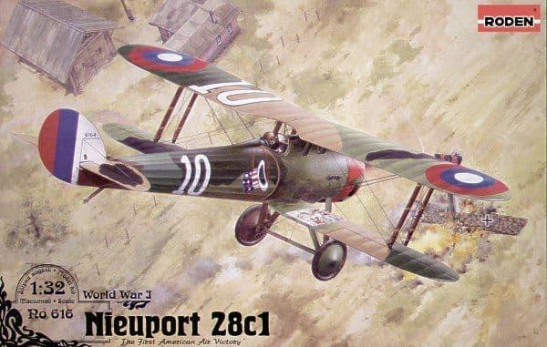 Roden 1/32 Nieuport 28C-1 # 616