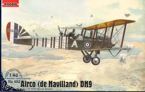 Roden 1/48 Airco (de Havilland) DH.9 # 423