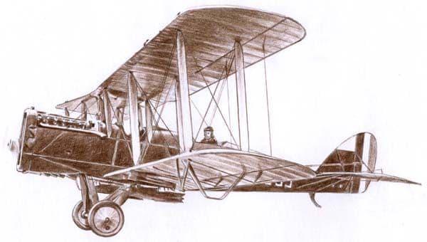 Roden 1/48 De Havilland DH.4 # 422