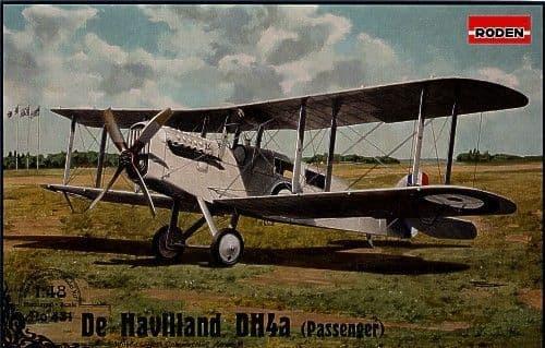 Roden 1/48 De Havilland DH.4a (passenger version) # 431
