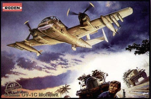 Roden 1/48 OV-1C Mohawk # 437