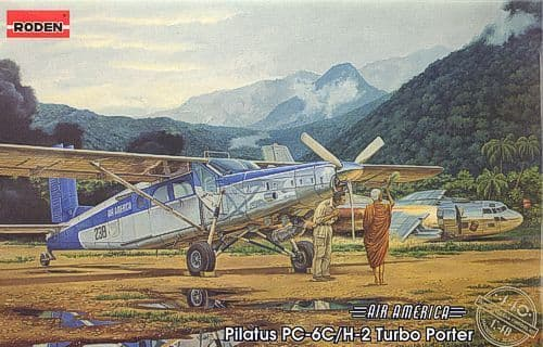 Roden 1/48 Pilatus PC-6C/H-2 Turbo Porter # 440