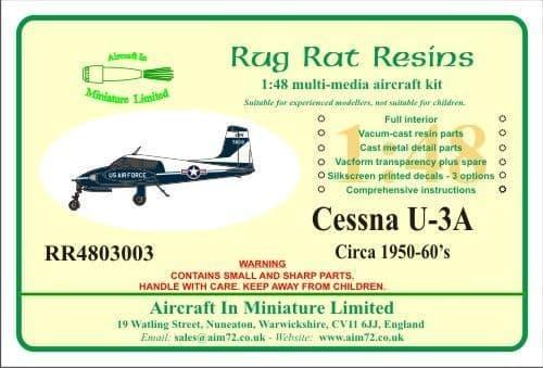 Rug Rat Resins 1/48 Cessna U-3A # RR4803003