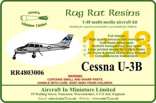 Rug Rat Resins 1/48 Cessna U-3B # RR4803006