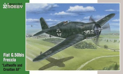 "Special Hobby 1/32 Fiat G.50bis ""Luftwaffe and Croatian AF"" # 32"