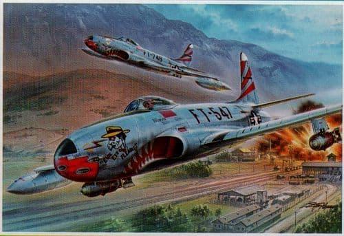 """Special Hobby 1/32 Lockheed F-80C """"over Korea"""" # 32048"""