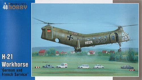 Special Hobby 1/48 H-21 Workhorse German and French Service # 48
