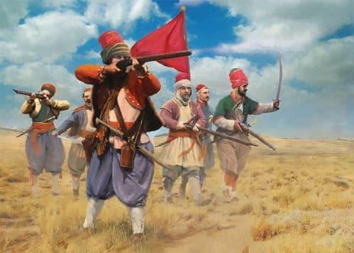 Strelets 1/72 Bashi-Bazouks (Russo-Turkish War 1877) # M054