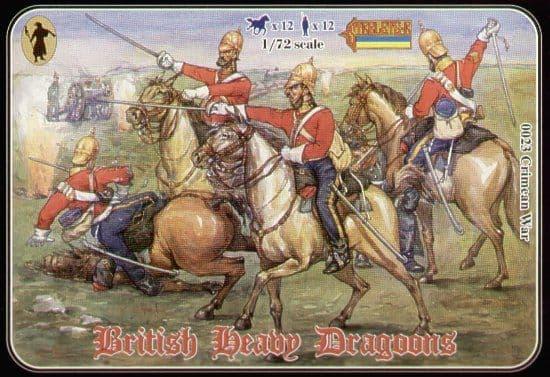 Strelets 1/72 Crimean War British Heavy Dragoons # 023
