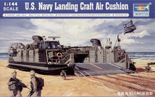 Trumpeter 1/144 LCAC Landing Craft Air Cushion # 00107