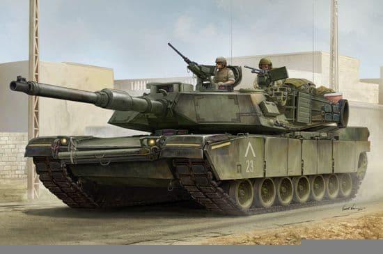 Trumpeter 1/16 US M1A1 Abrams AIM MBT # 00926