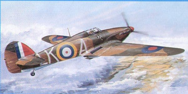 Trumpeter 1/24 Hawker Hurricane Mk.1 # 02414