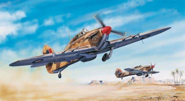 Trumpeter 1/24 Hawker Hurricane Mk.IIC/Trop # 02416