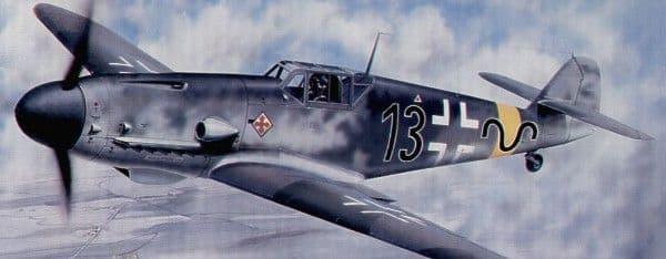 Trumpeter 1/24 Messerschmitt Bf109G-2 # 02406