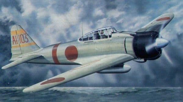 Trumpeter 1/24 Mitsubishi A6M2b Model 21 'Zero' Fighter # 02405