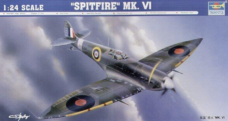 Trumpeter 1/24 Supermarine Spitfire Mk.VI # 02413