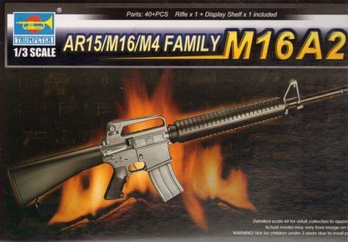 Trumpeter 1/3 M16A2 AR15/M16/M4 Family # 01907