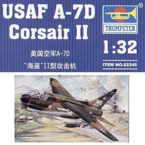 Trumpeter 1/32 A-7D Corsair II # 02245
