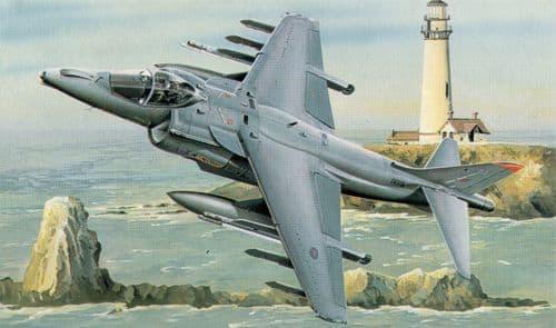 Trumpeter 1/32 BAe Harrier GR.7 # 02287