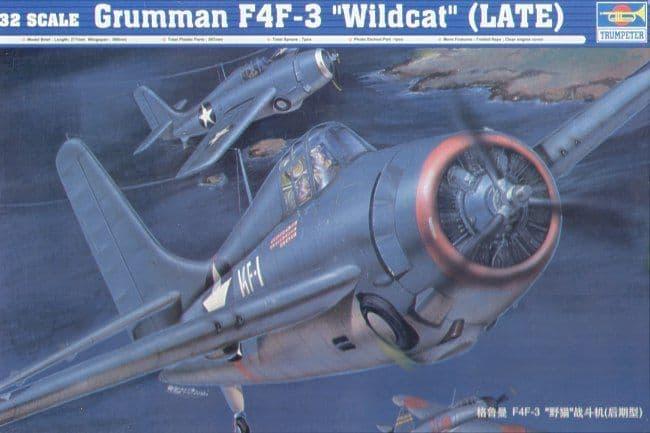 Trumpeter 1/32 Grumman F4F-3 Wildcat Late Version # 02225