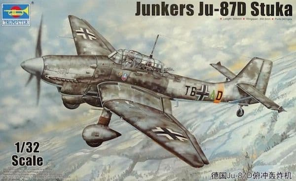 Trumpeter 1/32 Junkers Ju 87D 'Stuka' # 03217