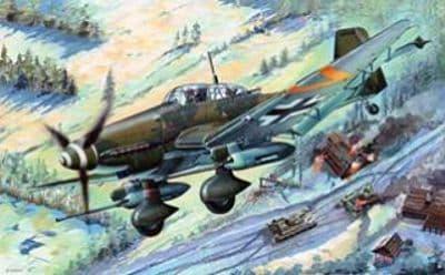Trumpeter 1/32 Junkers Ju-87G-2 'Stuka' # 03218