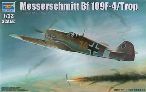 Trumpeter 1/32 Messerschmitt Bf109F-4/Trop # 02293