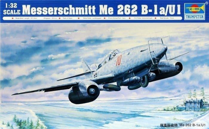Trumpeter 1/32 Messerschmitt Me 262B-1a/U1 # 02237