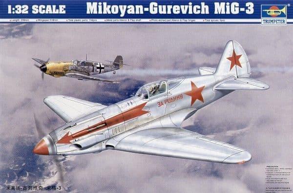 Trumpeter 1/32 Mikoyan-Gurevich MiG-3 # 02230