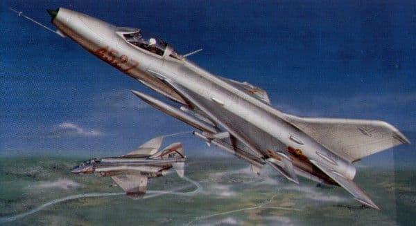 Trumpeter 1/32 Mikoyan MiG-21f-13 # 02210