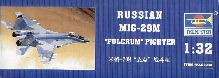 Trumpeter 1/32 Mikoyan MiG-29M Fulcrum # 02238