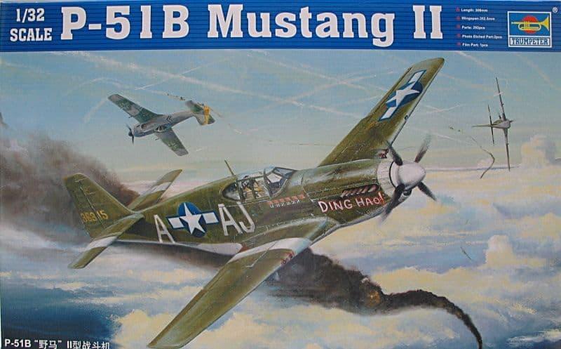 Trumpeter 1/32 North-American P-51B Mustang II # 02274