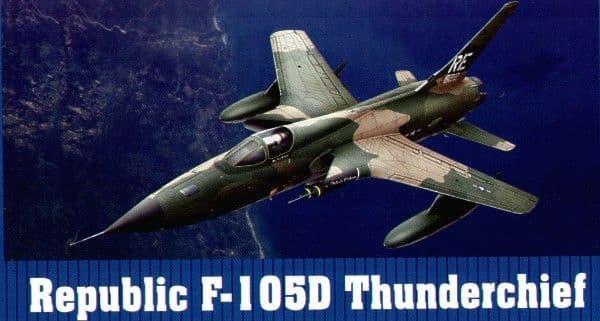 Trumpeter 1/32 Republic F-105D Thunderchief # 02201